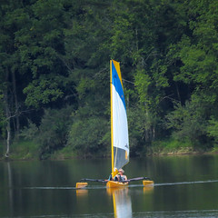 Hobie Cat on Lake Chillisquaque, Montour Preserve