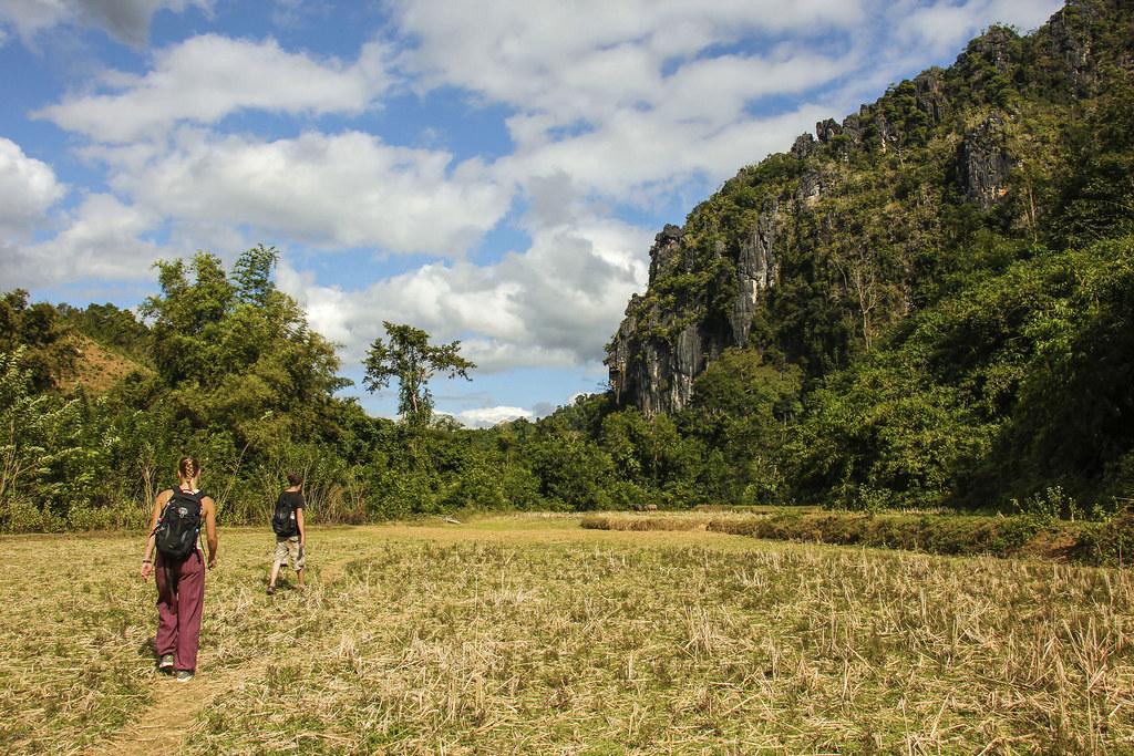 vandring i Laos