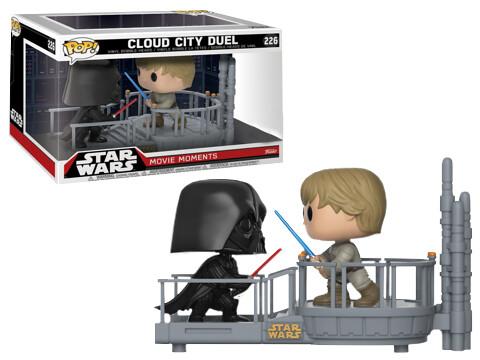 史上最可愛的經典大對決!?《星際大戰:帝國大反擊》雲城對決雙人包 Funko POP! Vinyl Star Wars Cloud City Duel (2-Pack Scene)