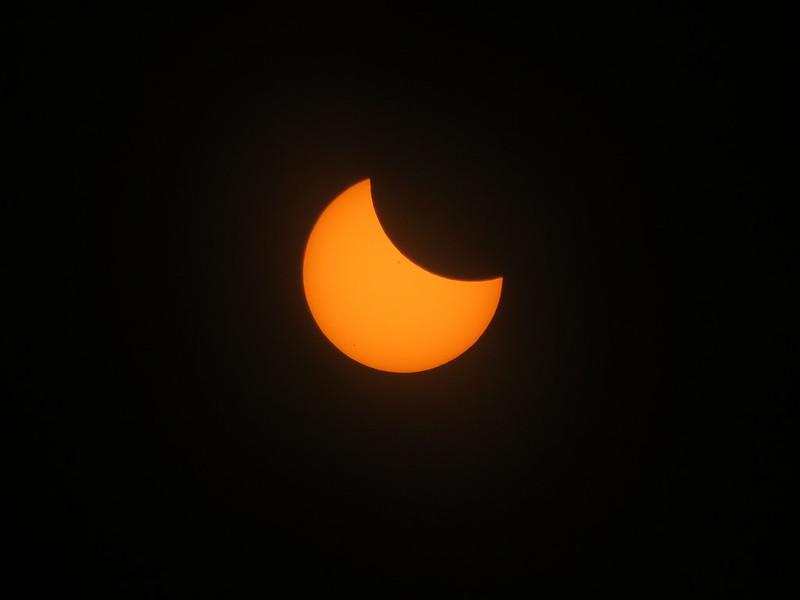 Partial Eclipse through Glasses (1/3)