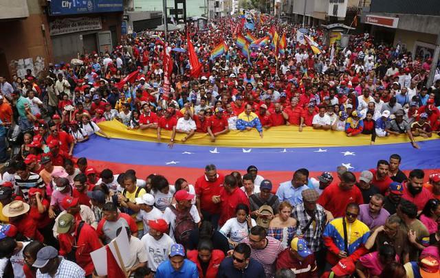 Ato brasileiro é em solidariedade ao povo venezuelano e em apoio à Assembleia Constituinte no país - Créditos: Agencia Venezolana de Noticias