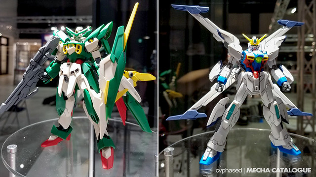 The Gundam Base Tokyo - Upcoming HGBF Gunpla