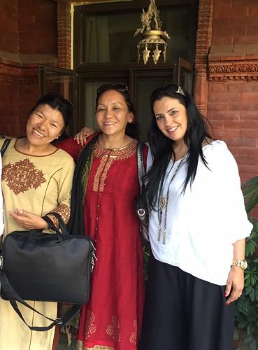 Dra Kunsang Dolma Sherpa, Lobsang Dolma and Sónia Gomes