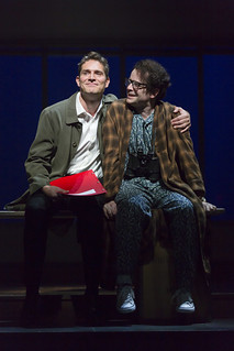 Mark Umbers and Damian Humbley in Merrily We Roll Along