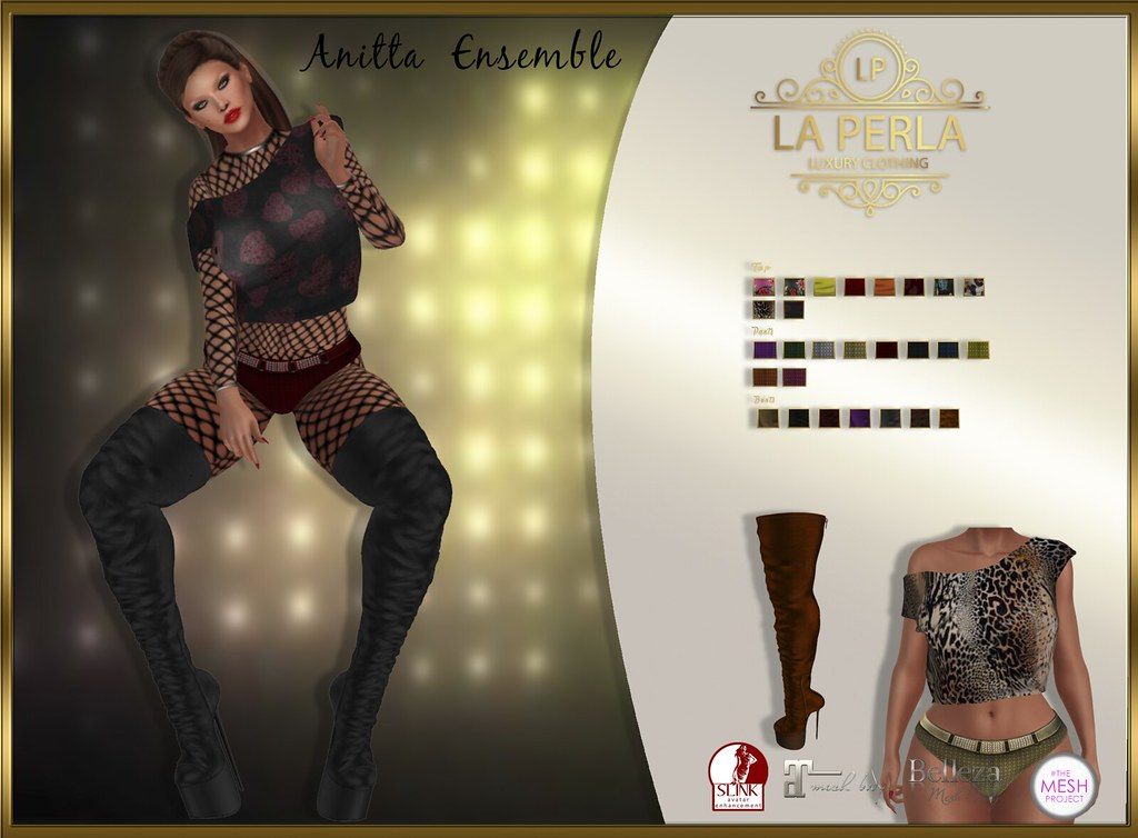 LA PERLA ::: Anitta Ensemble - TeleportHub.com Live!