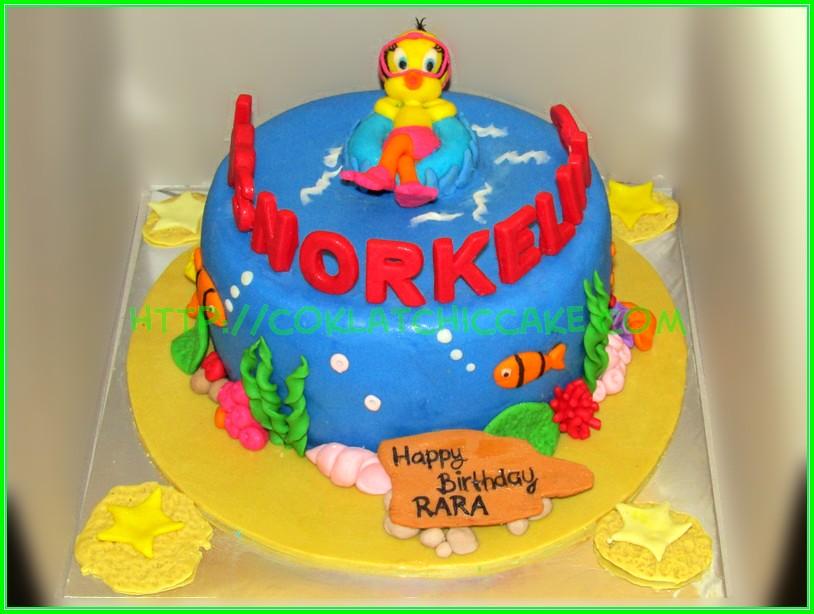 Cake Tweety