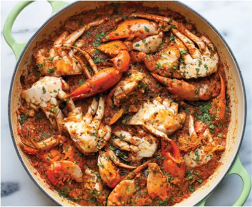 Crab sukha fry sept 13-14
