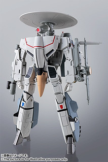 統合軍的「天空之眼」!HI-METAL R 《超時空要塞:愛‧還記得嗎》VE-1 「早期警戒機」エリントシーカー