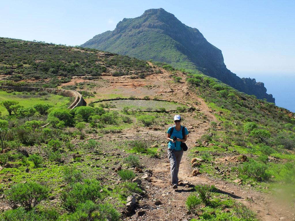 Sendero por el sur de Tenerife