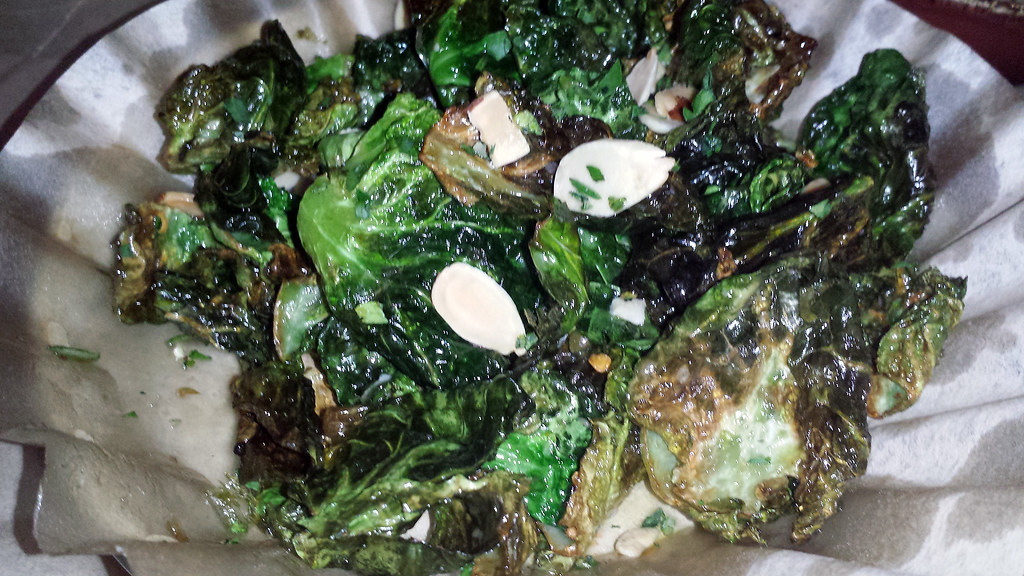 Brussel sprouts from Cleo at SLS Las Vegas