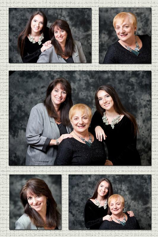 Grandma, Daughter and Grandaughter