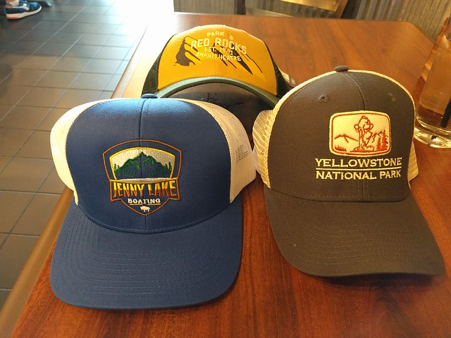 Hats I picked up on the trip