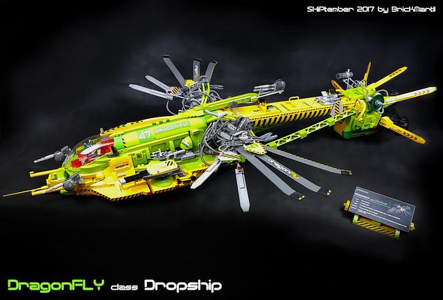 LEGO Shiptember ragonfly class Dropship