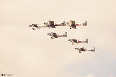 Pembrey Display team practice