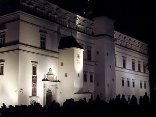 Vilnius - music performance in town square
