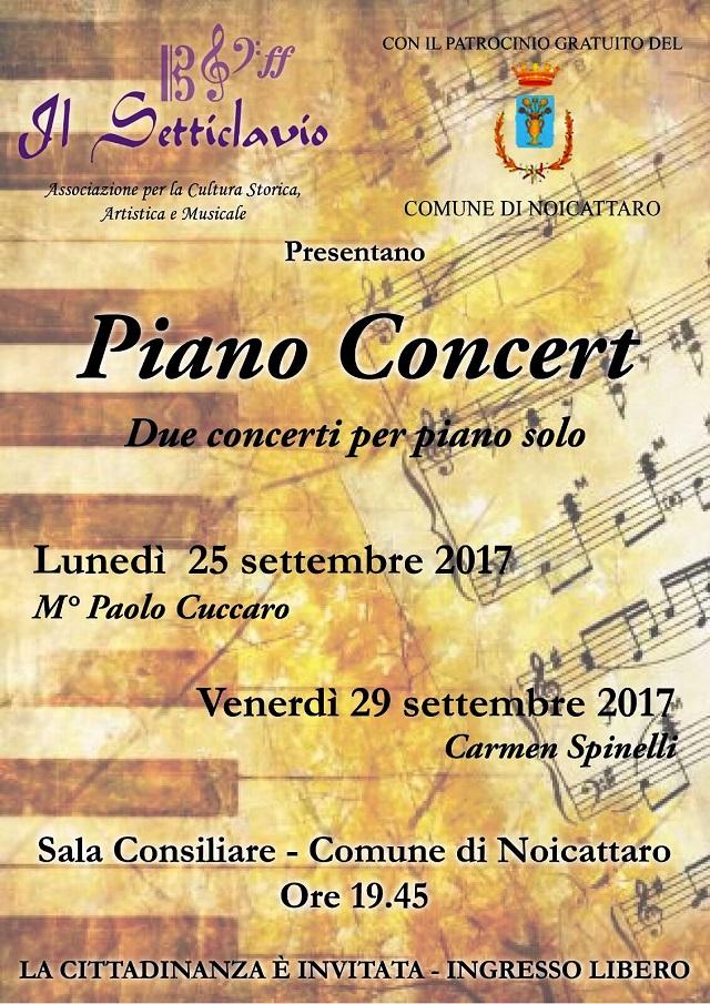 Noicattaro. Concerti Setticlavio intero