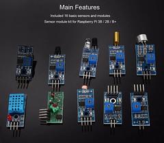 Bon Plan : 16 modules et capteurs pour Raspberry Pi à 8.37€