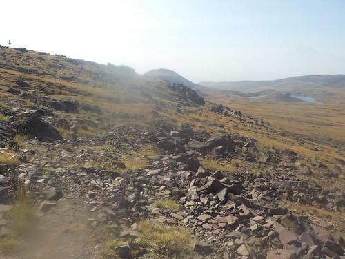ちゃんと登山道で下山した