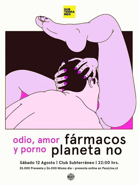 Fármacos + Planeta No en Club Subterráneo