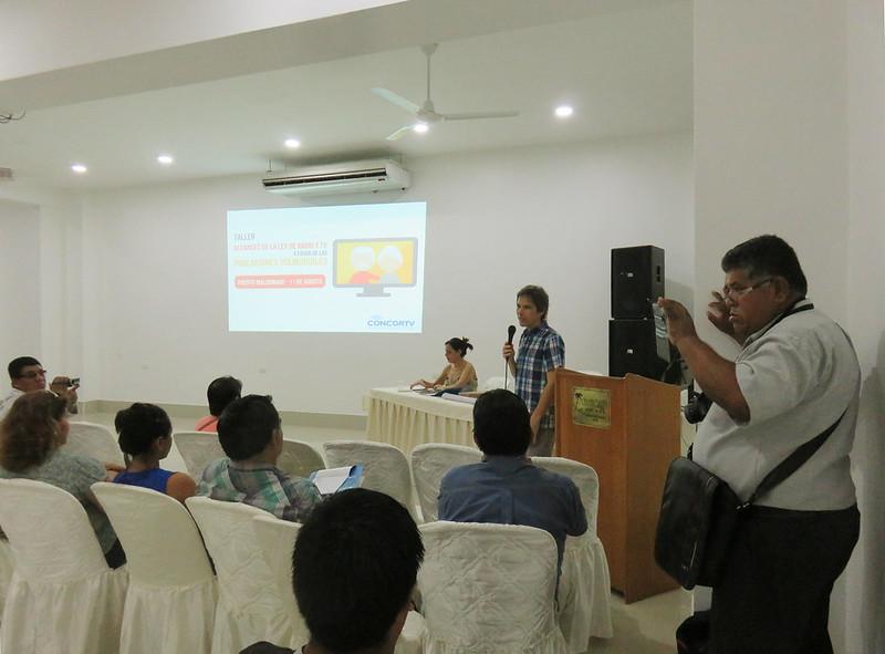 08 - Puerto Maldonado   Poblaciones Vulnerables y Medios de Comunicación