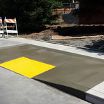 ADA Compliant Curb Ramp In Esparto