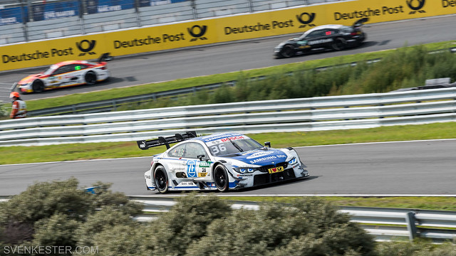 DTM Zandvoort 2017 - Martin chased by Farfus and Spengler