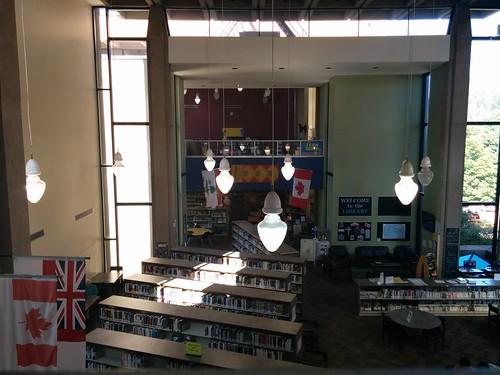 Main room, Confederation Centre Public Library #pei #princeedwardisland #charlottetown #library #ccpl #confederationcentreofthearts #confederationcentrepubliclibrary