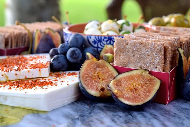 Drizzled Feta & Figs | www.rachelphipps.com @rachelphipps