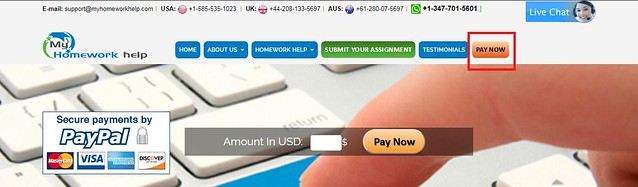 MyHomeworkHelp fraudulent payments