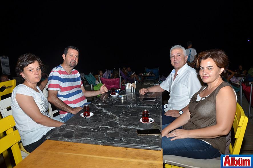 Fatma Erdoğan, Ümit Erdoğan, Hanife Karaalp, Mali Müşavir İbrahim Karaalp