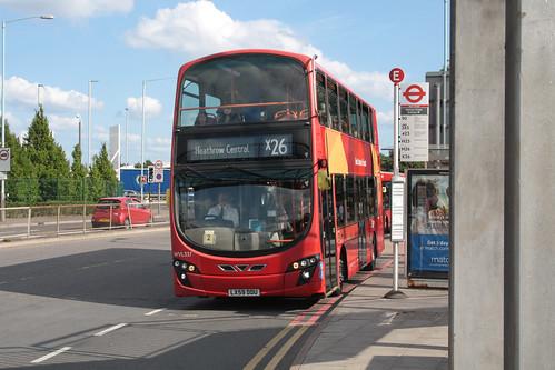 Go-Ahead London WVL337 LX59DDU