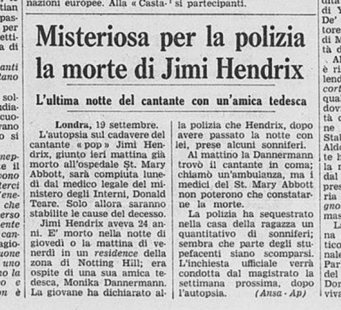 LA STAMPA (ITALY) SEPTEMBER 20, 1970
