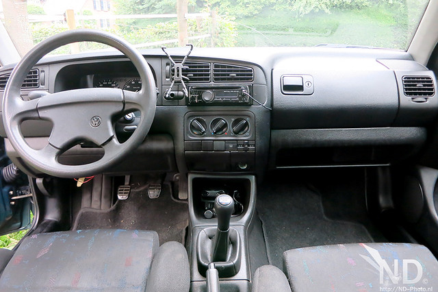 VW Golf MK3 GTI Interior