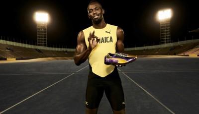 Bolt Legacy Spikes byly vyrobeny speciálně pro Londýn