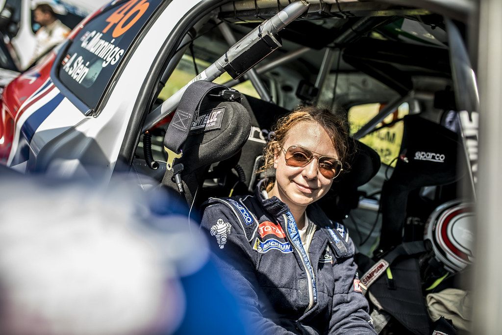 STEIN Anne Katharina (AUT) Peugeot 208 R2 ambiance portrait during the 2017 European Rally Championship Rally Rzeszowski in Poland from August 4 to 6 - Photo Gregory Lenormand / DPPI