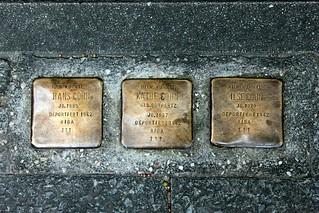 Stolpersteine in der Michaelkirchstraße