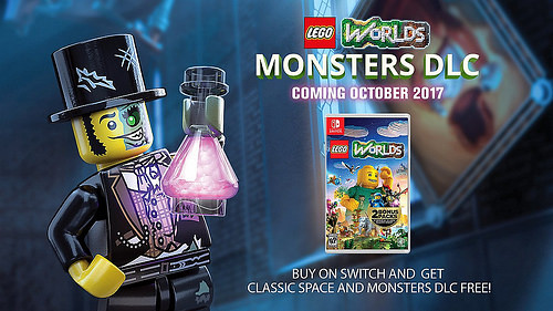 Lego Worlds Dodatek Monsters