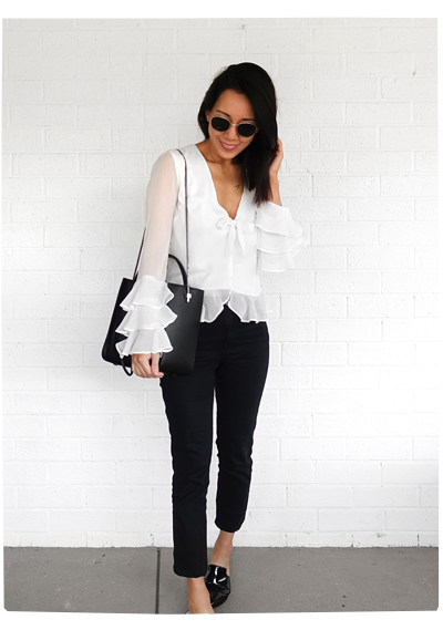 Winnie Blouse from Revolve