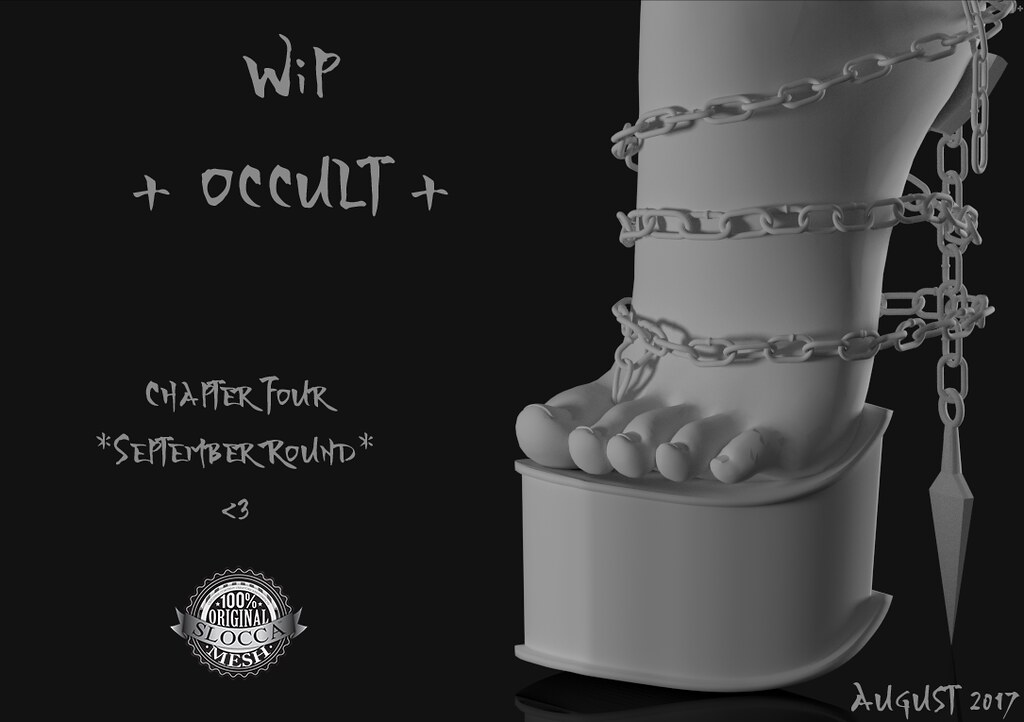 W.I.P + Occult + Chapter Four  *September* - TeleportHub.com Live!