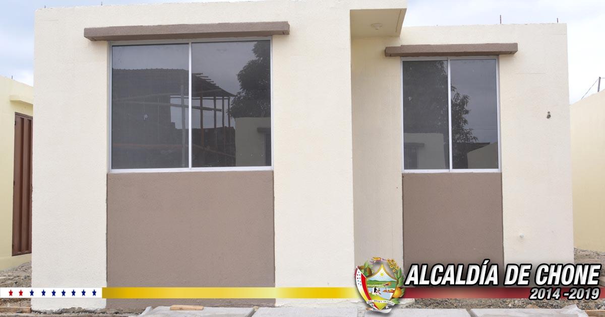 16 viviendas listas para los damnificados del 16A y personas con discapacidad