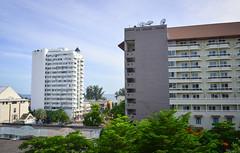 Modern buildings in Pattaya, Thailand
