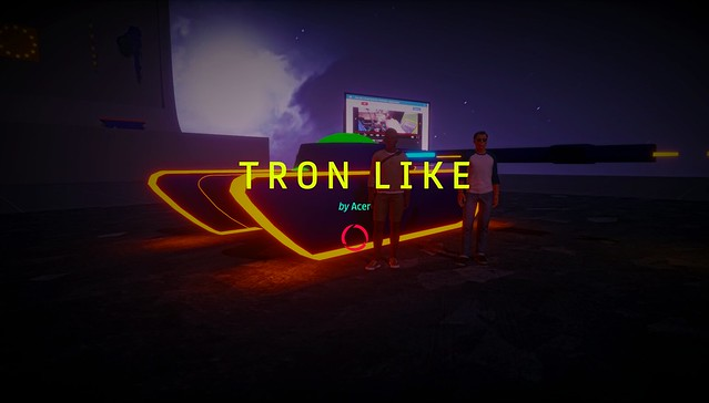 TRON LIKE - Experience on SANSAR