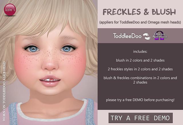 TD & Omega Freckles & Blush