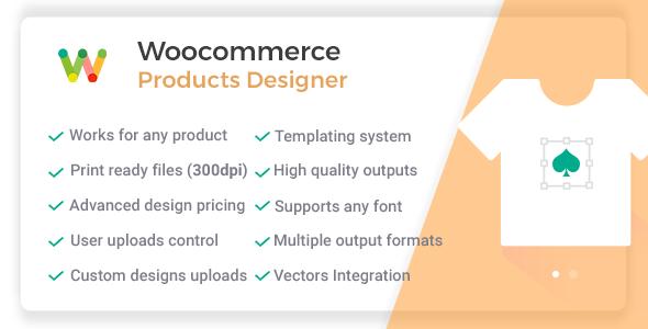 Woocommerce Products Designer v4.11