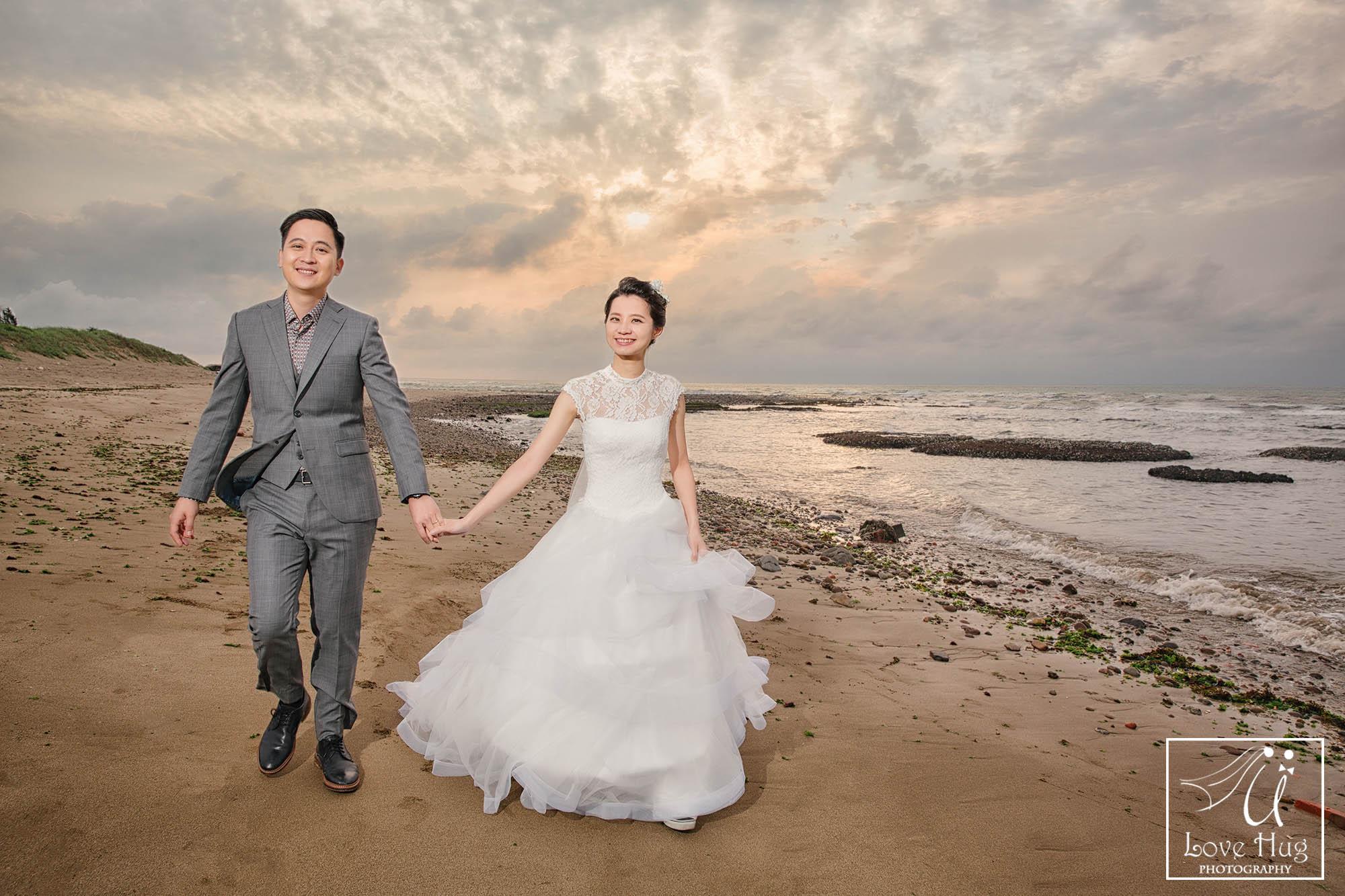 自助婚紗,自主婚紗,婚紗攝影,食尚曼谷,陽明山m北海岸,婚攝Benson,繡球花