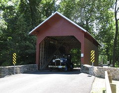 Model A and Covered Bridge