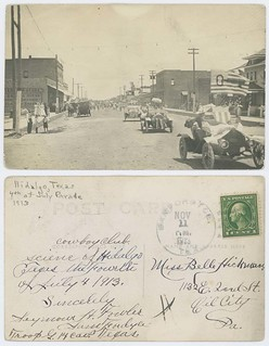 Hidalgo, Texas, 4th of July Parade, 1913
