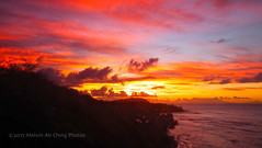 Diamond Head Sunrise Sky