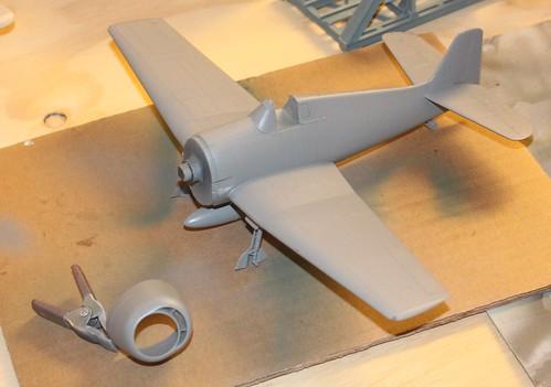 """Grumman F6F-3 Hellcat, """"Vit 19 Vraciu"""", Eduard 1/48 - Sida 2 36452396483_73194a2c45"""