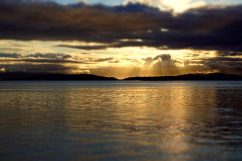 norge norway rogaland stavanger stuinnorway gandsfjord water waterfront sunrise sunshine